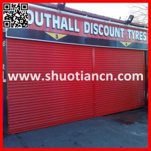 Industrial Factory Rolling Metal Door, Security Rolling Steel Door (ST-02) pictures & photos