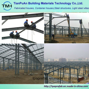 Low Cost Steel Structure House for Africa pictures & photos