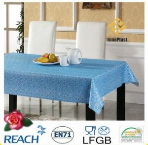 137cm PVC Color Lace Tablecloth on Rolls pictures & photos