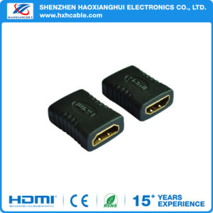 OEM HDMI Female to HDMI Female Adapter pictures & photos
