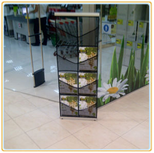 Cheap Mesh Brochure Stand with 8 Holders pictures & photos