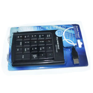 USB Wired Metal Laptop Computer Numeric Keypad Keyboard pictures & photos