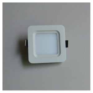 2.0USD 3W Rounded Square Anti-Glare Nature White LED Panel Light
