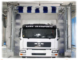 Dericen at-Wd01 Touchless Bus Wash Equipment with Gantry Type