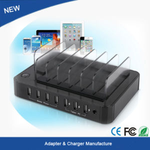Multi 7 Port USB2.0 Hub USB Charger for Pad iPhone 6 7 Plus pictures & photos