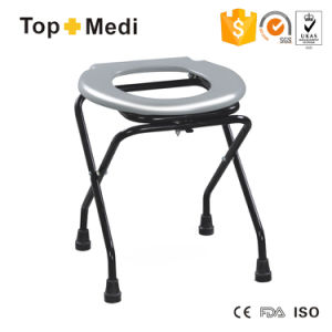 Cheapest Price Folding Lightweight Commode Chair pictures & photos