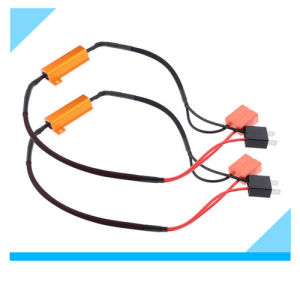 Manufacture of Vehicle Auto H7 LED Daytime Running Light Bulb Wire Harness with Blinker Canbus Load Resistor 50W china manufacture of vehicle auto h7 led daytime running light Car Blinker Lights at fashall.co