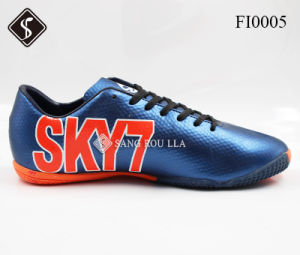 Men Indoor Soccer Sports Shoes pictures & photos