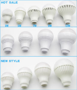 Fire Resistant 3W to 12W E27 LED Bulb Plastic Housing pictures & photos