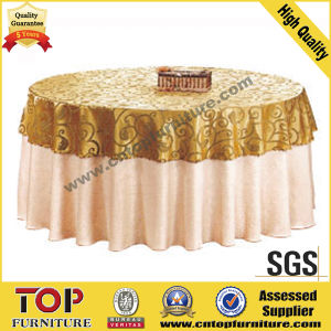 Durable Nice Hotel Banquet Hall Table Cloth pictures & photos