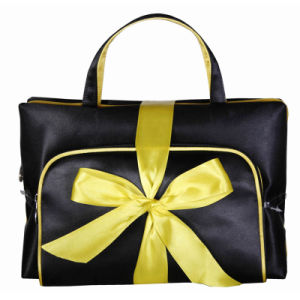 Black Travel Business Packing Toiletry Cosmetic Bag