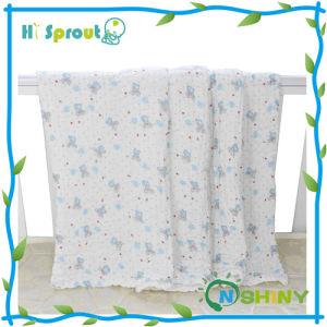 "Unisex Muslin Swaddle Blanket 47X47"" Baby′s Gift"