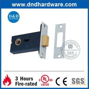 Door Accessories Black Brass Lock for Bathroom Door (DDML031) pictures & photos