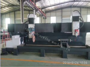 Stone Statue Making Machine / 5 Axis CNC Stone Cutting & Milling Machine pictures & photos
