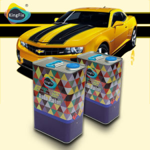 Kingfix Brand Clear Coat Paint Offering Crystal Bright Coating pictures & photos