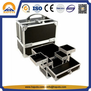 Hot-Sale Cosmetic Beauty Box with Aluminum Frame (HB-1203) pictures & photos