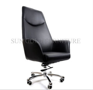 Modern High Grade Leather Manufacturer Swivel Manager Office Chair (SZ-OCE162) pictures & photos