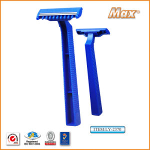 Twin Stainless Steel Blade Disposable Razor for Medical Use (LY-2370) pictures & photos