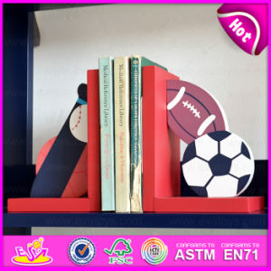 2015 Brand New Wooden Ball Bookend, Hot Sale Wood Ball Bookend, Lovely Bookend Ball Wooden W08d048 pictures & photos