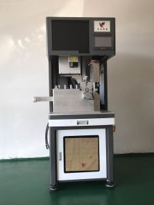 50W 150W Optical Fiber Laser Marking Engraving Machine for ABS Plastic pictures & photos