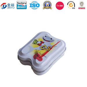 Mini Size Kids Toothpaste Tin Container for Promotion pictures & photos