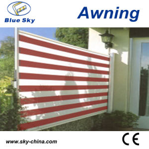 Outdoor Aluminium Retractable Office Side Screen Awning pictures & photos