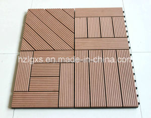 Interlocking WPC Waterproof Flooring Tiles, Deck Tiles (A-WT-10) pictures & photos
