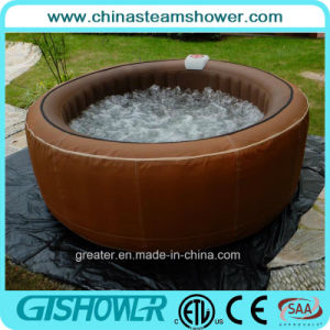 Deluxe Sex Massage Outdoor Whirlpool SPA (pH050010 Brown) pictures & photos