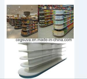 V Type Lotion Shelf / Gondola pictures & photos