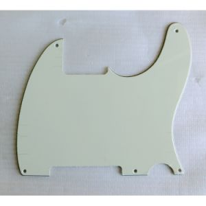 3ply Mint Green Esquire Style Tele Guitar Pickguard pictures & photos