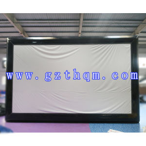 PVC Taprualin 0.55mm Thickness Inflatable Outdoor Movie Screen pictures & photos