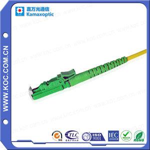 E2000/APC-E2000/APC Fiber Optic Singlemode Jumper pictures & photos