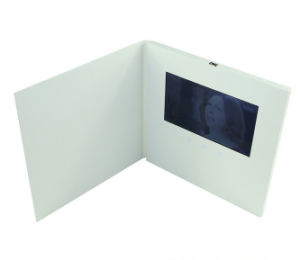 Custom 2.4/4.3/5/7inch LCD Screen Blank White Video Brochure / Card / Booklet pictures & photos