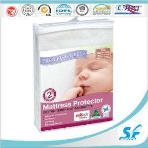Hypoallergenic Waterproof Terry PU Mattress Protector pictures & photos