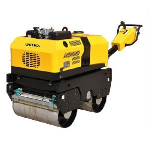 880kg Walk Type Double Wheel Road Roller with Honda G*390 pictures & photos