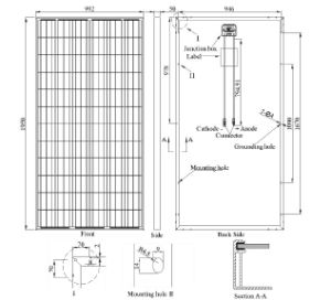 Pid Free Poly Solar Panel 315W German Quality pictures & photos