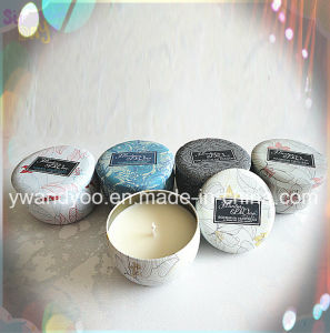 Decorative Scented Soy Tin Candle