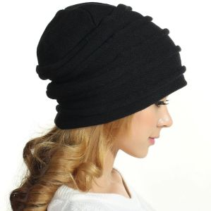 (LKN15039) Promotional Winter Knitted Beanie Hats pictures & photos