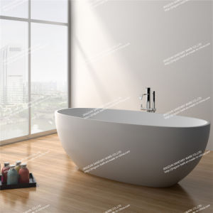 Modern Design Stone Resin Artificial Stone Freestanding Bathroom Mineral Bathtub (JZ8628)