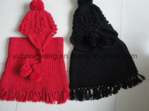 Fashion Kid′s Winter Warm Knitted Acrylic Set pictures & photos