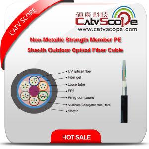 Gyfta (S) High Quality Non-Metallic Strength Member PE Sheath Outdoor Fiber Optic Cable pictures & photos
