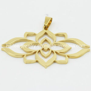 Hot Sale Stainless Steel Flower Pendant pictures & photos