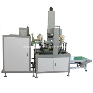 High Speed Automatic Box Four Corners Pasting Machine (YX-400) pictures & photos