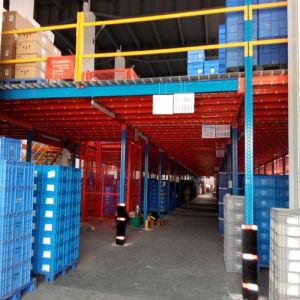 SGS Approved Steel Storage Mezzanine Floor pictures & photos