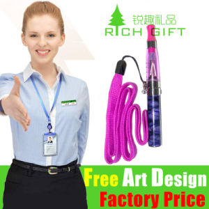 Bulk Woven Double Ended Promotion Card Lanyard for Event pictures & photos