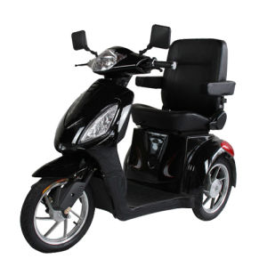 Three Wheel Travel Scooter with 500W and Luxury Chair pictures & photos