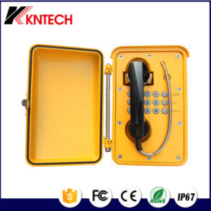 Kntech Building Sos Analog Telephone Knsp-01 Weatherproof Phone Waterproof Telephone pictures & photos
