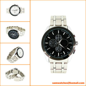 Fashion Style Stainless Steel Gift Watch for Men From Watch Manufacturer