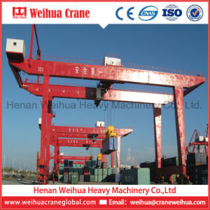 Weihua Rail Mounted Container Gantry Crane Rmg pictures & photos