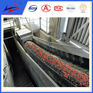 Fire Resistant and Heat Resistant Belt Conveyor for Hot Coal Transporting pictures & photos